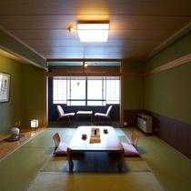 【和室】「和を重んじる格式ある客室」で、和のなごみと癒しへの誘う寛ぎの空間