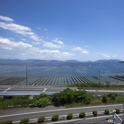 景観:目の前には瀬戸内海が広がり、抜群のロケーション!リゾート気分を味わえます♪