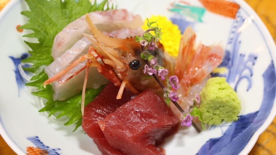 *[ご夕食一例/刺身]その時美味しい旬のお魚を厳選!