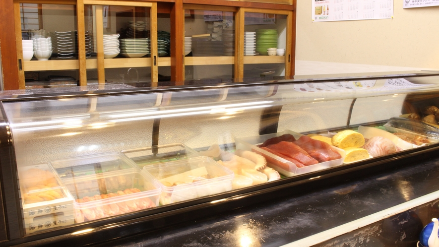 *[寿司処「美鈴」/ネタ]食材は、旬のもの!青森県産の地の物をご用意しております