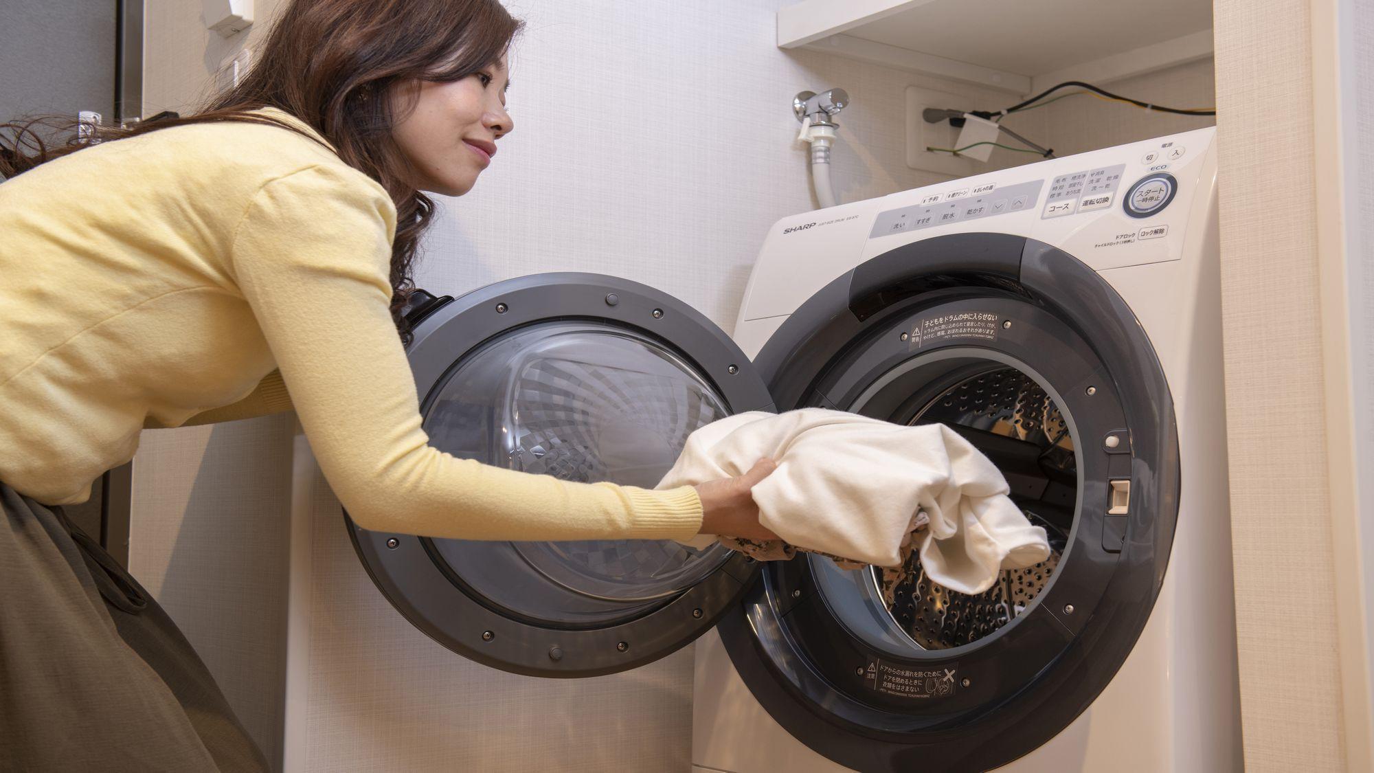 【洗濯乾燥機】出張・京都観光での京都ステイは少ない荷物でOK