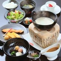 風雅流朝食(一例)