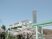東山動植物園 スカイビュートレイン