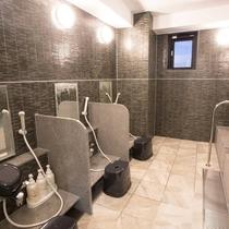 2階浴場(洗い場)