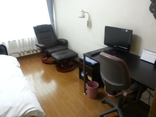 素泊まり洋室禁煙、ベッド、リクライニングチェアあり
