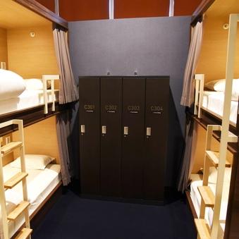 【4名用】半個室(2段ベッドタイプ)