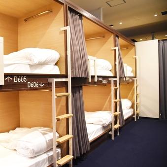 【6名用】半個室(2段ベッドタイプ)