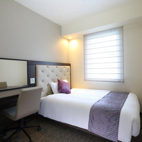 シングルA広さ:13m2 ベッド幅140cm