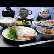 日替わりの和朝食をご用意♪