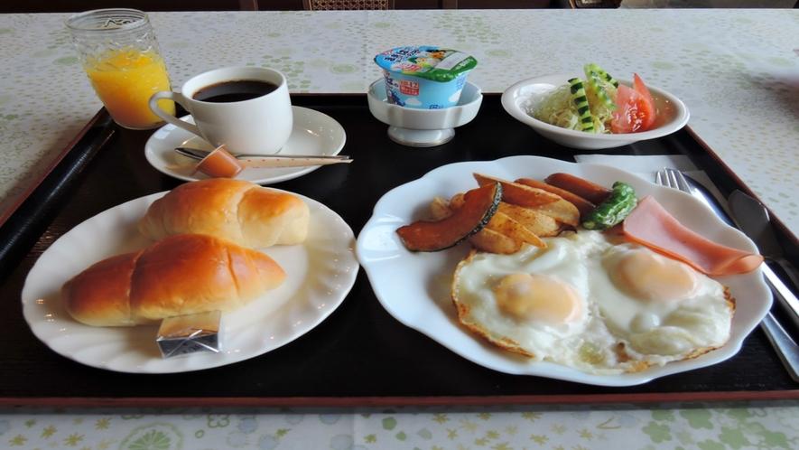 【朝食一例】朝食は洋食・和食からお選びいただけます。