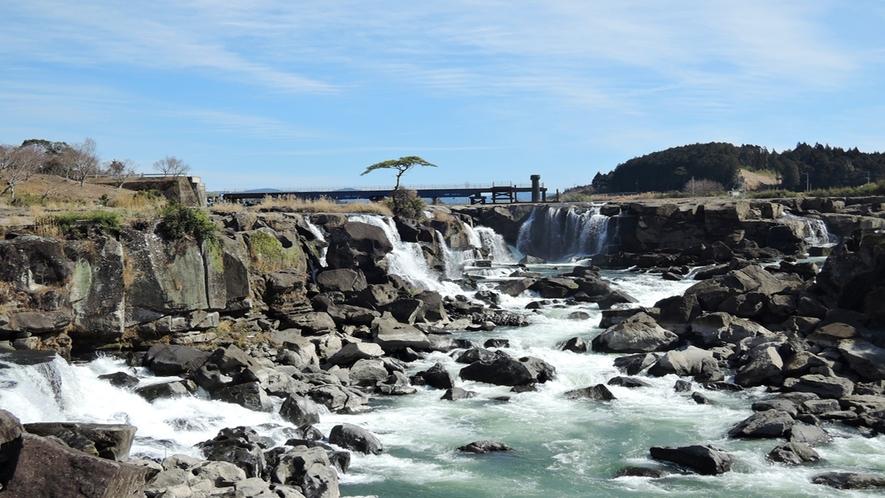 【周辺】曽木の滝/東洋のナイアガラと呼ばれるほどの大迫力!