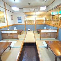 【施設】レストラン風車/お昼には和食ランチ・洋食ランチも準備いたしております。