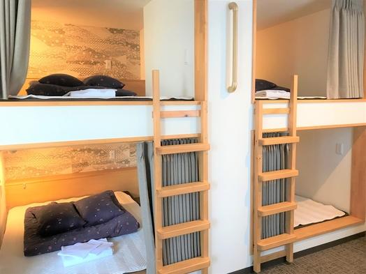 【シェアルーム】プライベート感のあるカプセル型ベッド&出会いがあふれる広々ラウンジとキッチン