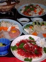 鍋料理(3種) 例