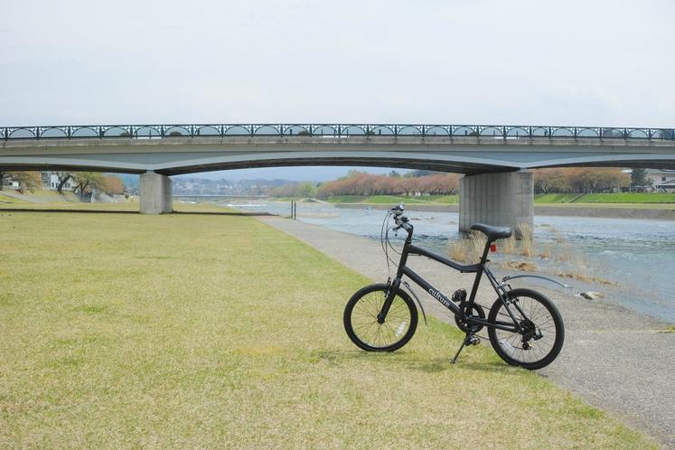貸し出し用自転車