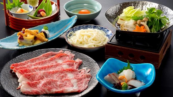 【特選黒毛和牛すき鍋】とろける黒毛和牛のお肉をこだわりのすき焼き風味でご堪能ください☆