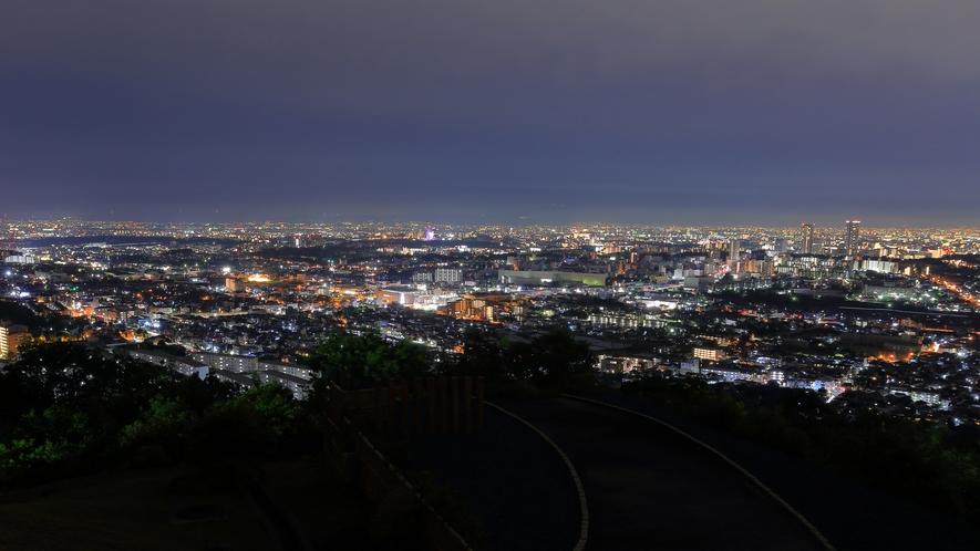 テラス【夜景】