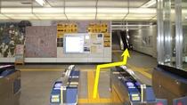 つくばエクスプレスの「浅草駅」の改札を出てA2出口へ