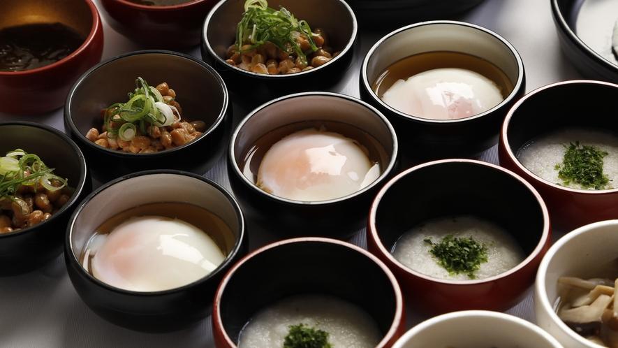 ◆朝食 味めぐり小鉢バイキング(イメージ)季節ごとに内容変更致します。