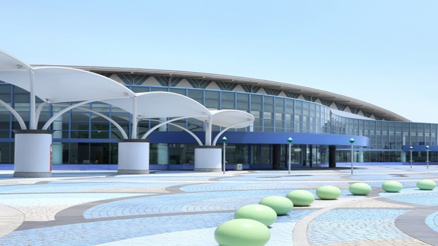 ◆≪夢メッセみやぎ≫仙台港にあるコンベンションセンター。様々なイベントも開催されています♪