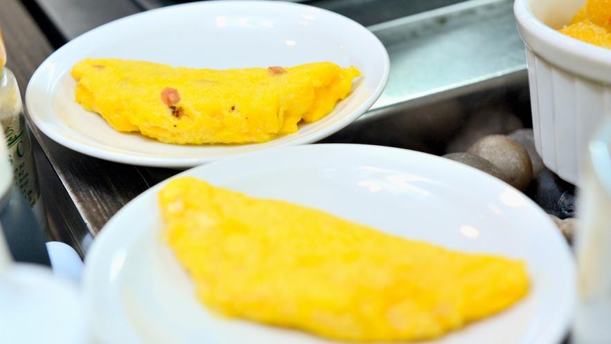 ◆朝食 出来立てのたまご料理をご提供致しております。(イメージ)