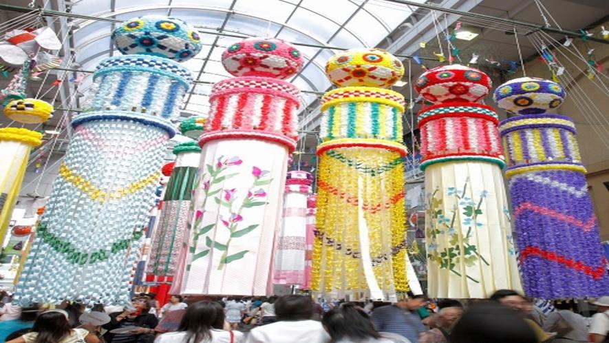 ◆≪仙台七夕まつり≫8月6日~8日の3日間にわたり行われる仙台の夏の風物詩です♪