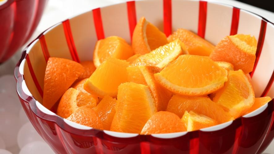 ◆朝食 フルーツバイキング(イメージ)季節ごとに内容変更致します