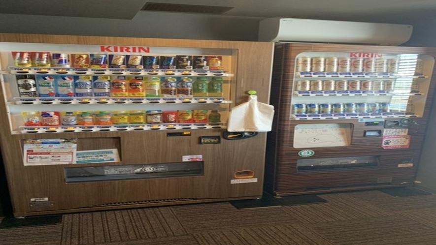 ◆自動販売機 ホテル棟4階 ソフトドリンク/アルコール
