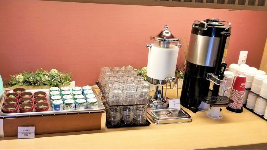 ◆朝食 ドリンクコーナー(イメージ)