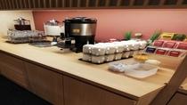 ◆朝食 ドリンクコーナー