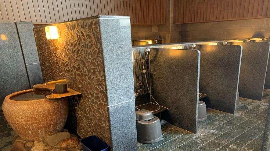 ◆男子大浴場 カラン(19か所)