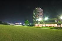 クイーン18番ホールとアザリアホテル