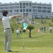 【グラウンドゴルフ場】クラブやサークルの合宿にもご利用いただけます