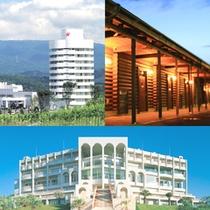3種類の宿泊棟からお好みや予算、用途に合わせてお選びください