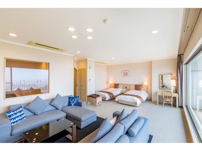 ホテルシャトー・洋室(4ベッド)