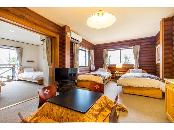 コテージ・スタンダードタイプ洋室(4ベッド)