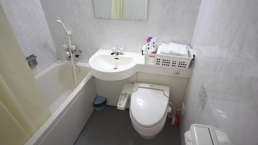 [本館和室] 各お部屋にバス・トイレを完備