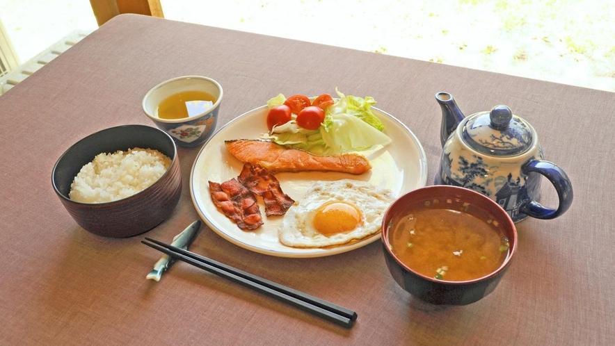 [朝食] 和食メニュー