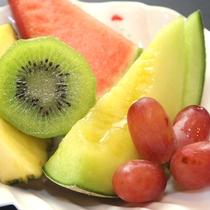 フレッシュなフルーツ盛り合わせ♪