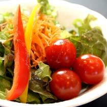 新鮮な地野菜サラダ
