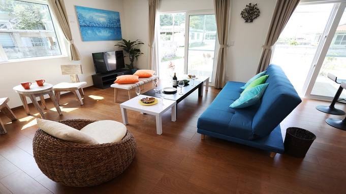 【さき楽30日前】キッチン・洗濯乾燥機あり!ビーチまで徒歩10分!2階建て一軒家完全プライベート空間