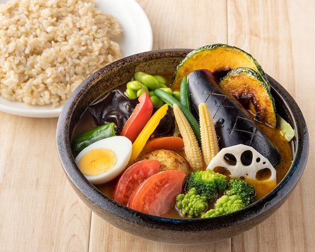 1日分野菜のスープカレー