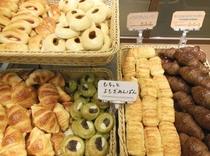 季節限定のパンが登場することも…♪