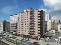 ホテル外観(東側より)