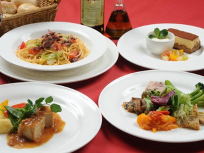 ◇-Casual-コースのお料理イメージ◇