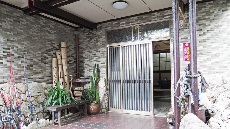 *【玄関】ようこそ!漁家民宿 要太郎へ!