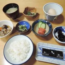 【朝食一例】体に優しい和朝食をご用意致します。