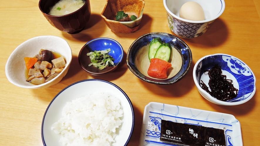 *【朝食一例】体に優しい和朝食をご用意致します。