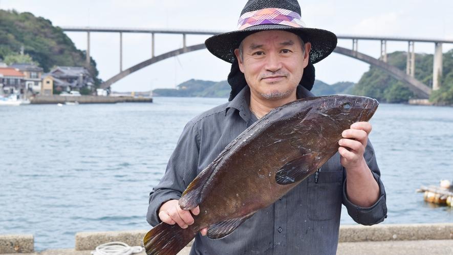 *【その他】新鮮な魚介類は、オーナー自ら地元の漁師に買付に行きます!