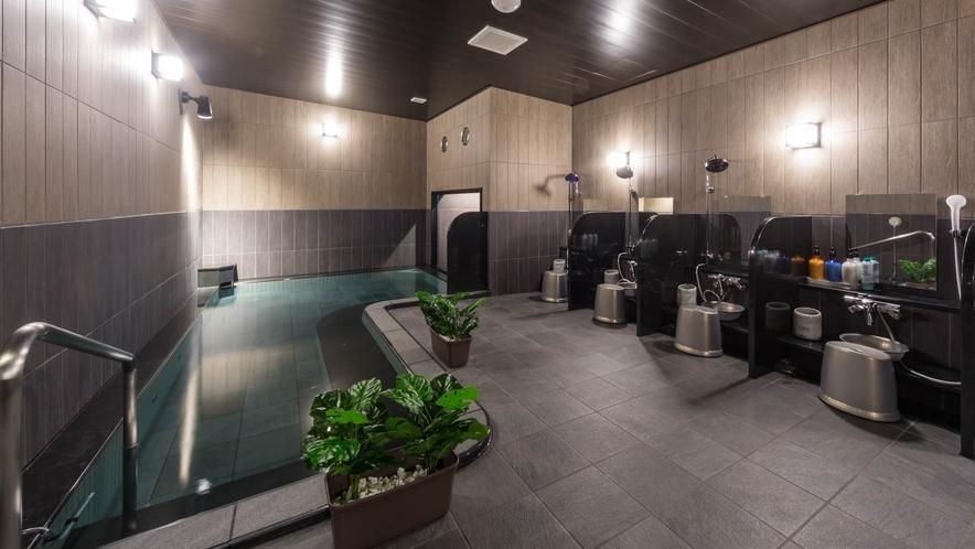 【男性大浴場】発汗作用を促し老廃物を汗とともに排出します。